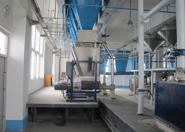 Batch Type Washing Powder Making Machine With Automatic Packing Machine