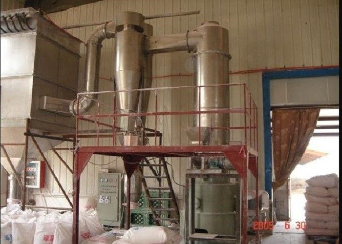 Rotary Industrial Flash Dryer , Kaolin Air Flash Dryer ISO9001 Certification